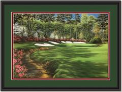 Augusta Azalea Hole #13 Framed Print