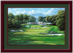 18th Hole Oakmont Golf Print