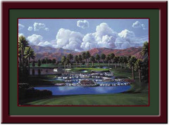 Desert Springs - 17th Hole Golf Print