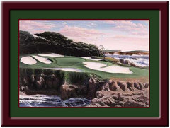 Cypress Point - 15th Hole Golf Print