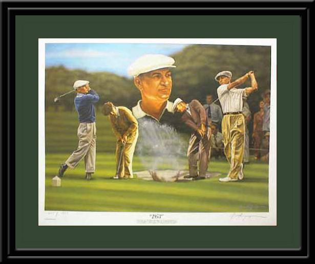 Ben Hogan - 1953 Golf Print