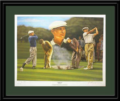 Ben Hogan - 1953 Golf Print