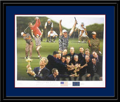 Victory at Brookline Golf Art Print
