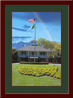 Augusta Clubhouse with Rainbow Framed Picture