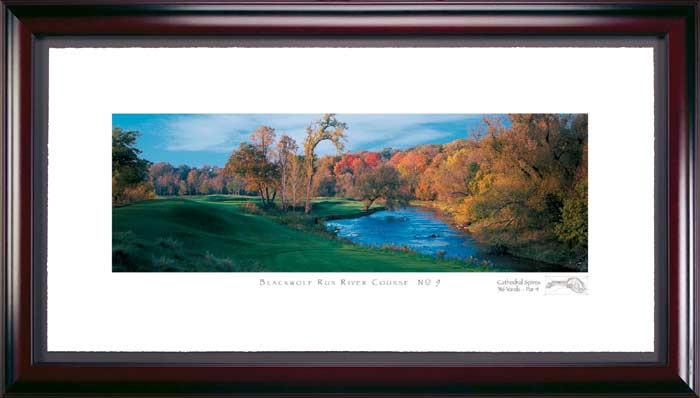 Blackwolf Run 9th Hole Framed Golf Print
