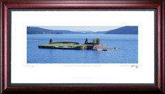 Coeur D' Alene No. 14 Framed Golf Print