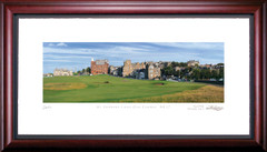 St. Andrews 17th Road Hole Golf Photo Framed Picture
