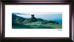 Torrey Pines North Course #6 Hole Framed Golf Print