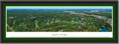 Augusta Aerial Photo Framed Print
