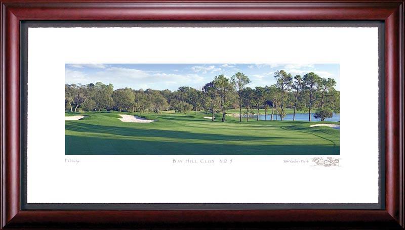 Bay Hill 5th Hole Framed Golf Print