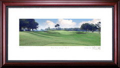Bay Hill 7th Hole Framed Golf Print
