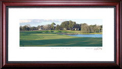 Bay Hill 18th Hole Framed Golf Print