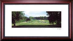 Bethpage 18th Hole Framed Golf Print