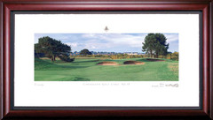 Carnoustie 13th Hole Framed Golf Art Print