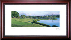 Firestone Country Club North 17th Hole Framed Golf Art Print