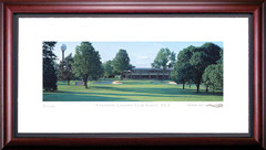 Firestone Country Club South 9th Hole Framed Golf Art Print