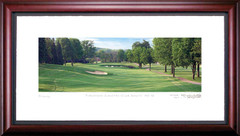 Firestone Country Club South 16th Hole Framed Golf Art Print