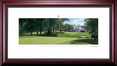 Congressional Country Club 9th Hole Framed Golf Art Print