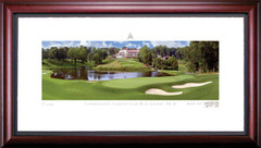 Congressional Country Club 10th Hole Framed Golf Art Print