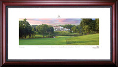 Congressional Country Club 18th Hole Framed Golf Art Print