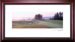 Gleneagles Kings 14th Hole Framed Golf Art Print