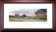 Gleneagles Kings 16th Hole Framed Golf Art Print