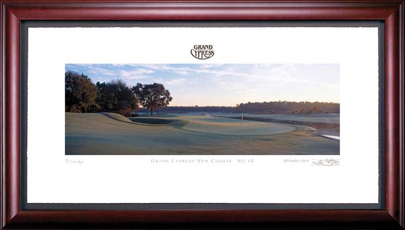 Grand Cypress 10th Hole Framed Golf Art Print