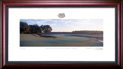 Grand Cypress 10th Hole Framed Golf Art Print