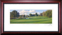 Hazeltine 7th Hole Framed Golf Art Print