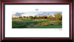 Heritage Club 13th Hole Framed Golf Art Print