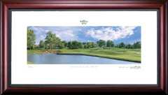 Heritage Club 18th Hole Framed Golf Art Print