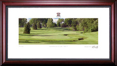Inverness Club 7th Hole Framed Golf Art Print