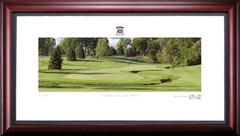 Inverness Club 7th Hole Framed Golf Art Print