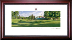 Inverness Club 18th Hole Framed Golf Art Print