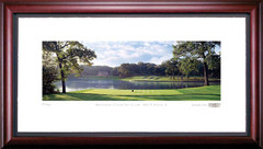 Medinah 2nd Hole Framed Golf Art Print