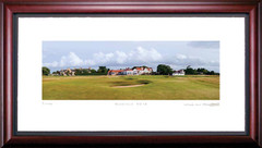 Muirfield 18th Hole Framed Golf Art Print