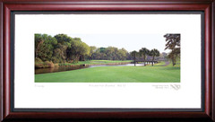 Palmetto Dunes 17th Hole Framed Golf Art Print