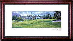 Pinehurst Clubhouse Golf Photo Framed Picture