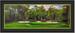 Augusta 13th Hole Panoramic Framed Golf Art Print