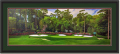 Augusta 13th Hole Panoramic Framed Print