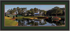Tournament Time at Sawgrass Panoramic Framed Photo