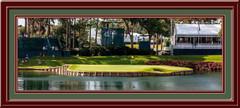 TPC Sawgrass Panoramic Framed Golf Photo