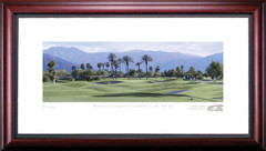 Rancho La Quinta 12th Hole Framed Golf Art Print