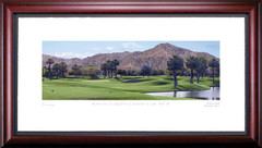 Rancho La Quinta 15th Hole Framed Golf Art Print