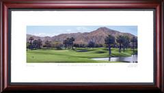 Rancho La Quinta 15th Hole Framed Golf Art Print