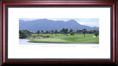Rancho La Quinta 6th Hole Framed Golf Art Print