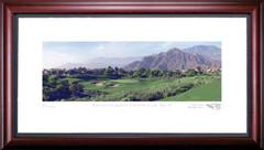 Rancho La Quinta 14th Hole Framed Golf Art Print