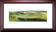 Royal Troon Golf Club 8th Hole Framed Golf Art Print
