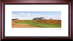 Shinnecock Hills 9th Hole Framed Golf Art Print