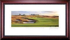 Shinnecock Hills 16th Hole Framed Golf Art Print